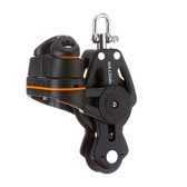 Master 35mm single swivel fiddle cleat
