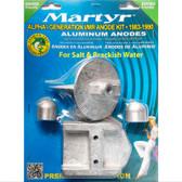 Martyr Aluminium Anode Kit - Mercury - 21300
