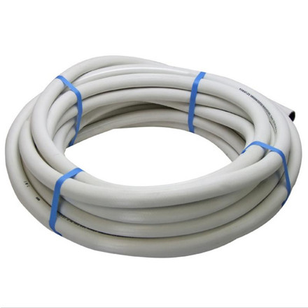 Reinforced White Hose (Sold Per 20m Roll)