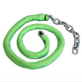Viper FLURO GREEN Chain Sock to Suit 6mm Short Link Chain