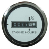 Veethree Instruments Lido Pro Domed Gauge - Hourmeter