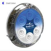 Bluefin Piranha P12 Bronze Base LED Underwater Light - Dual Colour