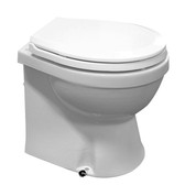 Electric marine toilet luxury home style large bowl
