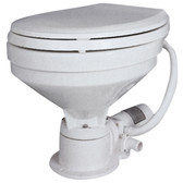 Electric toilets large bowl standard
