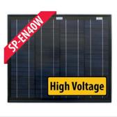 Enerdrive Fixed Mono Solar Panel - 40W-24V