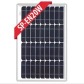 Enerdrive Fixed Mono Solar Panel - 20W