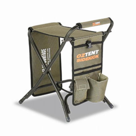 Oztent Side Kick Table, Footrest & Seat