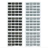 Small Format Reinforced Waterproof Labels