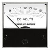 DC Analog Micro Voltmeter - 8-16V DC