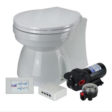 TMC 12V Toilet Quiet Operation - Small Soft Close Lid