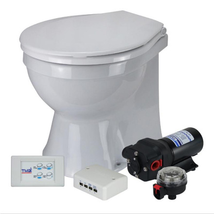 TMC Toilet Quiet Operation - Large Soft Close Lid