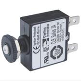 Push Button Circuit Breaker - Quick Connect Terminal