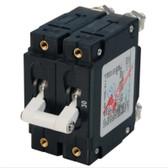 C-Series Toggle Circuit Breaker - Double Pole, White