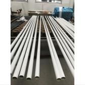 Reelax Fibreglass White Outrigger Poles 2-Piece (Pair)