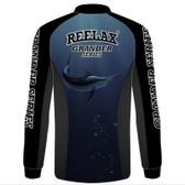 Reelax Mens Kids Fishing Shirt - Grander Series Edition