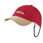 MUSTO Evolution Original Crew Cap - True Red