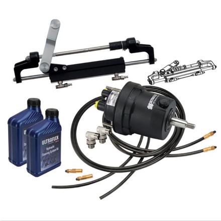 Ultraflex Hytech 175HP/1 Helm Kit + 6m HD Quick fit Hose Kit