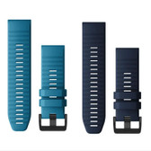 Garmin Quatix 6 QuickFit Silicone Watch Band - 26mm