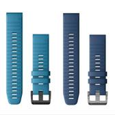 Garmin Quatix 6 QuickFit Silicone Watch Band - 22mm