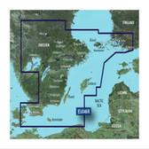 Garmin BlueChart G3 Micro SD Card - Sweden, Southeast Coastal & Inland Chart
