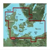 Garmin BlueChart G3 Micro SD Card - Denmark East to Sweden Southeast Coastal & Inland Chart