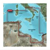 Garmin BlueChart G3 Micro SD Card - Italy Southwest & Tunisia Chart