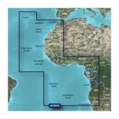 Garmin BlueChart G3 Micro SD Card - Africa, Western Coastal Chart