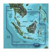Garmin BlueChart G3 Vision micro SD with SD Adaptor - Bay of Bengal to Kupand & Manado Chart
