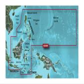 Garmin BlueChart G3 Vision micro SD with SD Adaptor - Philippines - Java - Mariana Islands Chart