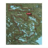 Garmin BlueChart G3 Vision microSD - Finland, Kuopia to Lappeenranta Chart