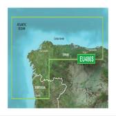Garmin BlueChart G3 Vision microSD - Spain, Galica and Asturias Chart