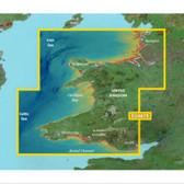 Garmin BlueChart G3 Vision microSD - Great Britain, Blackpool to Cardiff Chart