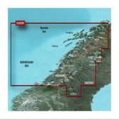 Garmin BlueChart G3 Vision microSD - Norway, Trondheim to Tromso Chart