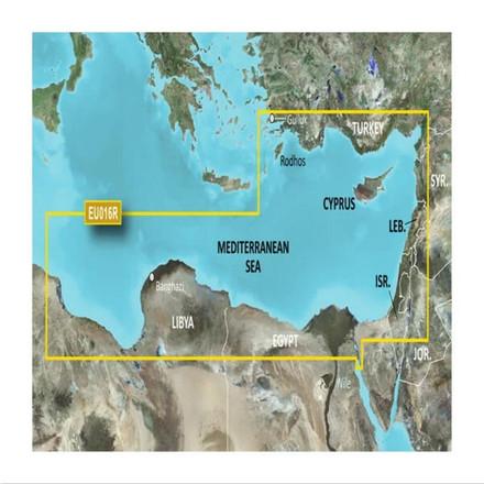 Garmin BlueChart G3 Vision microSD - Mediterranean Southeast Chart