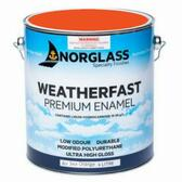 Norglass Weatherfast Premium Gloss Enamel - Air-Sea Orange
