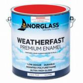Norglass Weatherfast Premium Gloss Enamel - Fleet Red