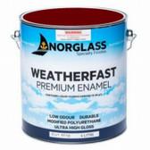Norglass Weatherfast Premium Gloss Enamel - Port Wine