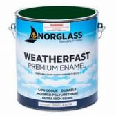 Norglass Weatherfast Premium Gloss Enamel - Vintage Green