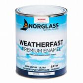 Norglass Weatherfast Premium Satin Enamel - White