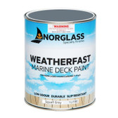 Norglass Weatherfast Slip Resistant Deck Paint - Squall Grey