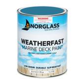 Norglass Weatherfast Slip Resistant Deck Paint - Horizon Blue