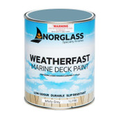 Norglass Weatherfast Slip Resistant Deck Paint - Misty Grey
