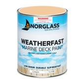 Norglass Weatherfast Slip Resistant Deck Paint - Cream
