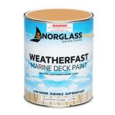 Norglass Weatherfast Slip Resistant Deck Paint - Shoreline Cream