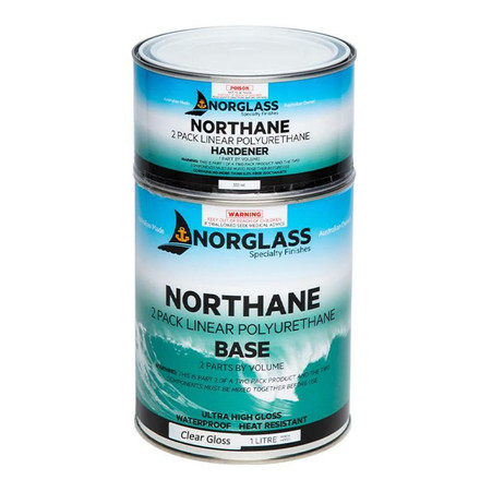 Northane Gloss 2-Pack Polyurethane Paint - Clear