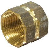 Brass hex sockets