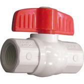 Compact pvc ball valves