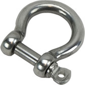 Bow shackles 316 grade stainless steel