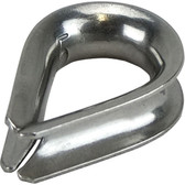 Stainless steel wire rope thimbles 316 grade