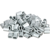 Din aluminium swages for wire